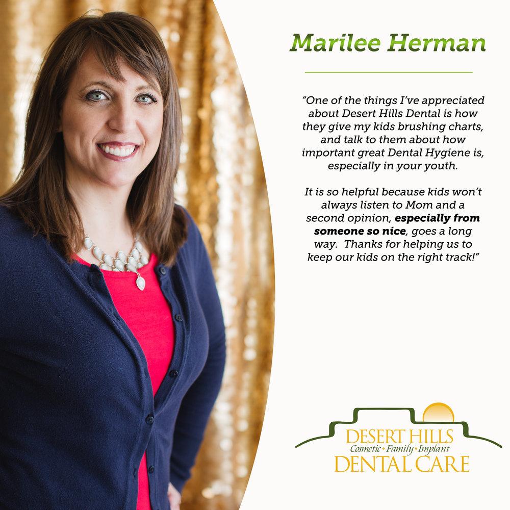 Marilee Herman testimonial