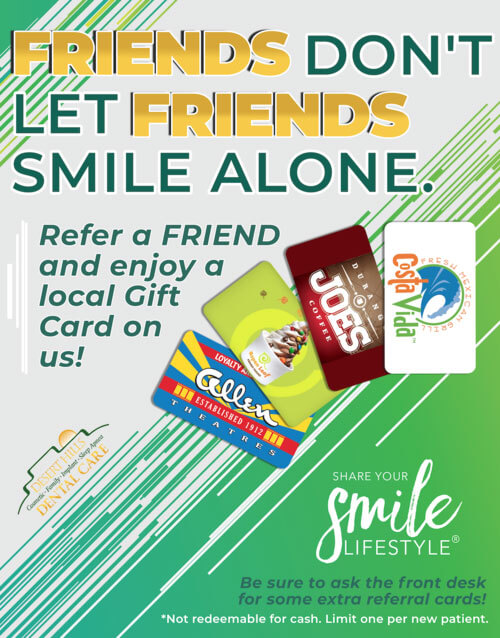 Refer a friend special offer