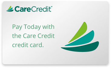 Pay with CareCredit logo